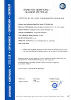 Test Inspection Certificate